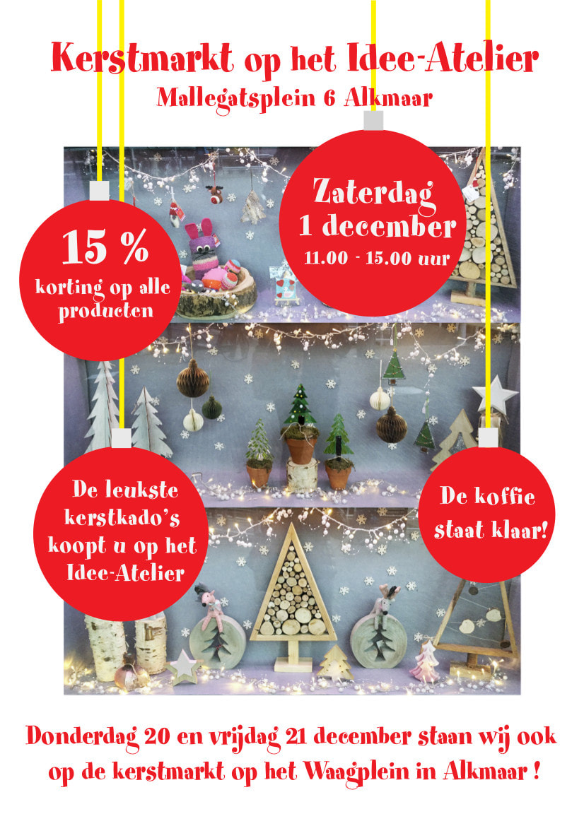 Kerstmarkt In December Idee Atelier